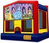Princess Fun Bounce Customer Pick Up