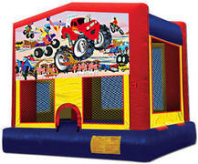 Monster Truck Fun Bounce House