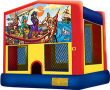 Pirate Fun Bounce Customer Pick Up