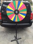 Prize Wheel On 6' Stand