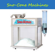Snow Cone Machine With RED Syrup