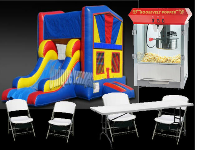 Deluxe Bounce House Package