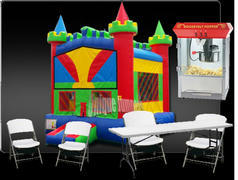 Castle Bounce House Package