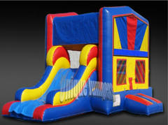 Deluxe Bounce House w/Slide Wet
