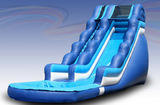 18 ft Wet Slide with Pool