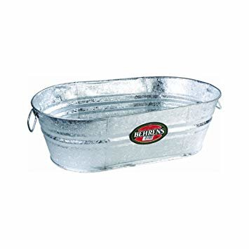 Ice Tub - Galvanized 44 Gallon