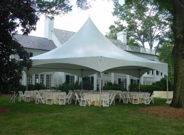20x20 Frame Tent Package (40 people)