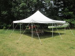 20x20 Pole Tent Package (32 people)