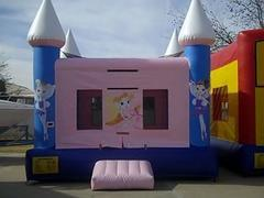 Ballerina Bouncy Castle 15x15