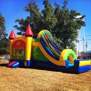 Bounce House Combo Dry Slides