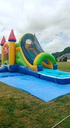 Bounce House Combo Water Slides