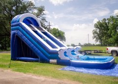 20' Tidal Wave Water Slide