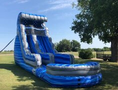 18' Laguna waves water slide