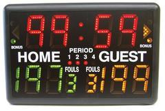 shot clock multisport indoor scoreboard