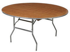 60 inch Round Table  (renter setup)
