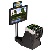 Golden Tee Golf Live Arcade Game With Monitor Stand