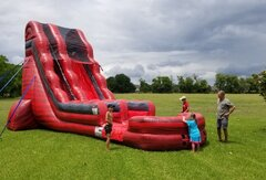 22' Red river water slide