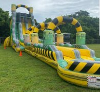 27' Toxic drop water slide