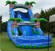 18' Blue Lagoon water slide