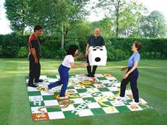 Giant Snakes and ladder game