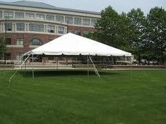 Frame tent 30' X 30'