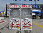 Carnival ticket booths