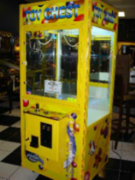 Toy Chest Crane Claw Machine