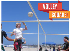 4 Square volleyball