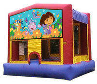 Dora Bounce House Rental Fair Oaks