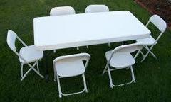 Rent 2 kids tables and 12 chairs ( kids size )