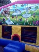 Ballerina Large bounce house
