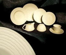 Ivory 10 inch Dinner Plate