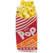 1 oz popcorn bags with out popcorn