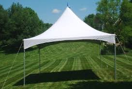 20x20 Party Tent Package with Tables & Chairs
