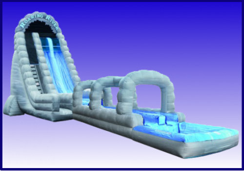 Roaring River 27' Tall Water Slide