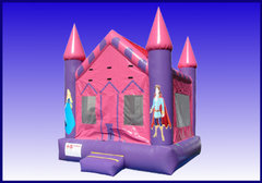 Pink Castle Bouncer