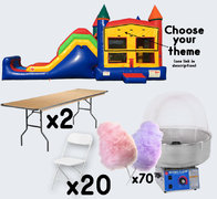Super Combo + Cotton Candy with 2 Tables + 20 Chairs (adult)