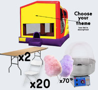 XL Combo + Cotton Candy with 2 Tables + 20 Chairs (adult)