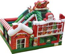 Christmas Combo Bounce House
