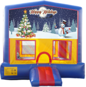 Happy Holidays Bounce House