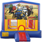 Ninjago Bounce House