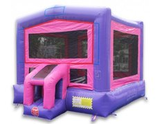 Pink & Purple Bounce House