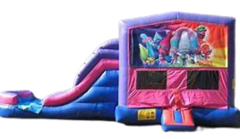 Trolls Bounce House Combo
