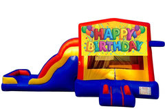 Happy Birthday Bounce House Combo