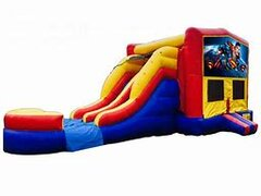 Superman Bounce House Combo