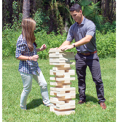 Tumble Tower Game