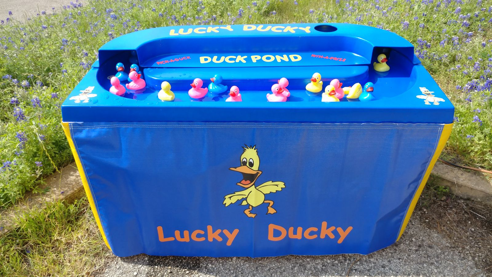 duck pond midway carnival game