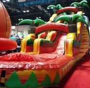 18 Ft Water Slide - Red Tropical