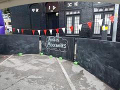 Giant Chalk Wall - 24 feet long 4 feet tall