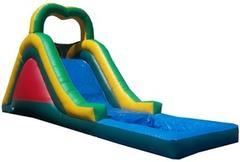 16'  Multi Color Water Slide